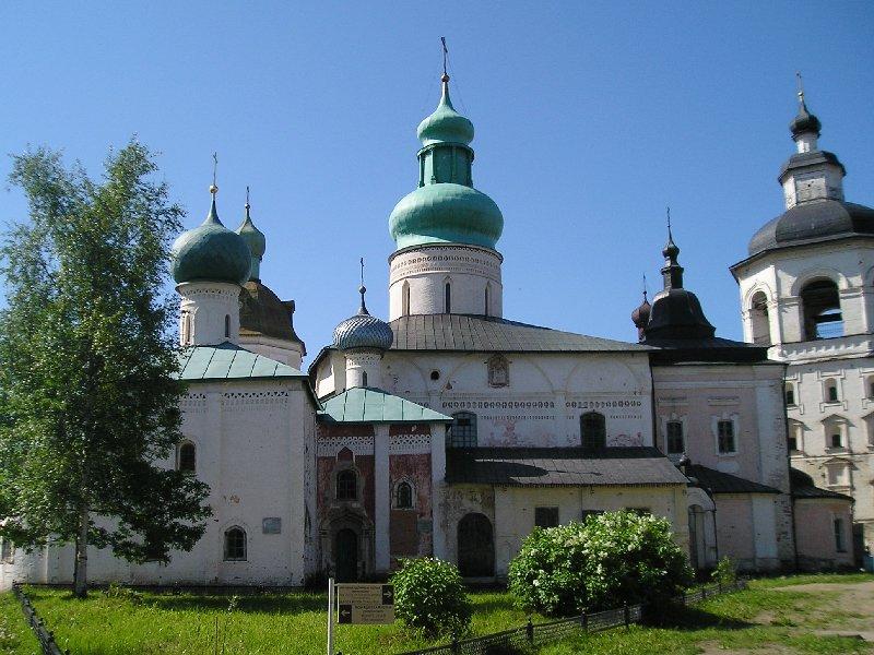 Кирилло белозерский монастырь