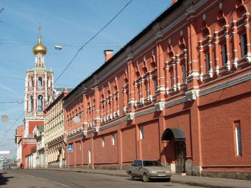 ысоко-Петровский монастырь был